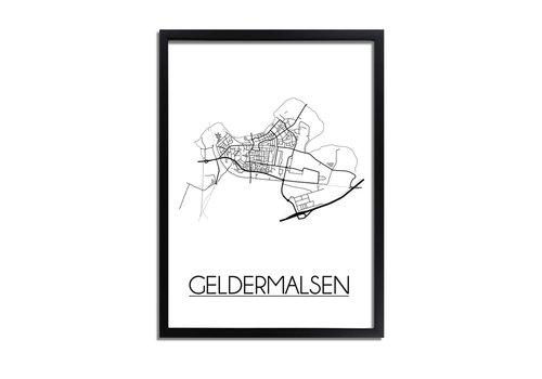 DesignClaud Geldermalsen Plattegrond poster