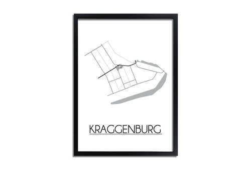 DesignClaud Kraggenburg Plattegrond poster
