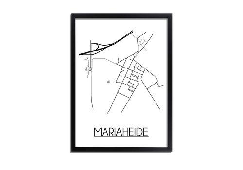 DesignClaud Mariaheide Plattegrond poster