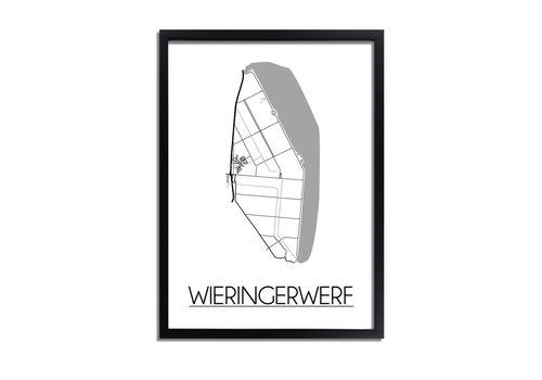 DesignClaud Wieringerwerf Plattegrond poster
