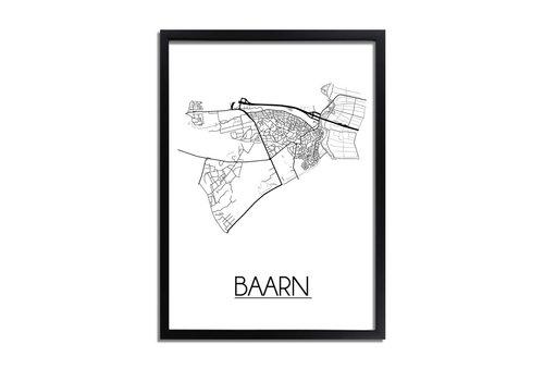 DesignClaud Baarn Plattegrond poster