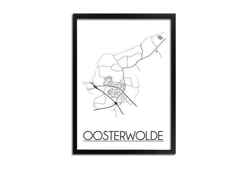 DesignClaud Oosterwolde Plattegrond poster