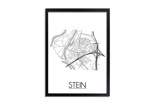 DesignClaud Stein Plattegrond poster