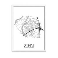 Stein Plattegrond poster