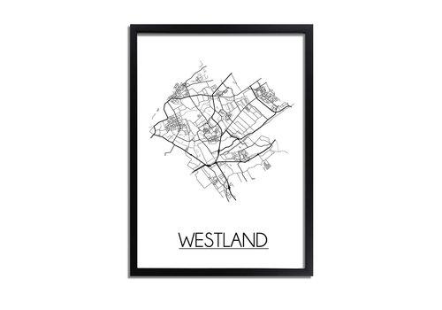 DesignClaud Westland Plattegrond poster