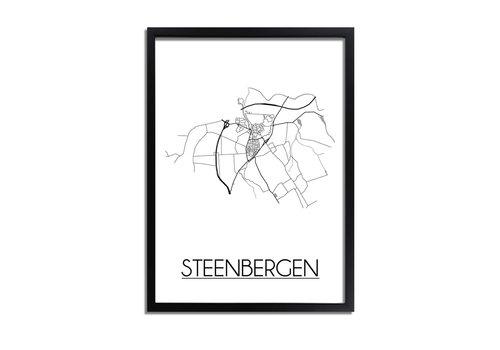 DesignClaud Steenbergen Plattegrond poster
