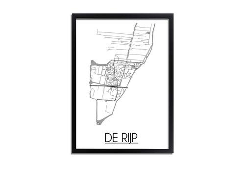 DesignClaud De Rijp Plattegrond poster