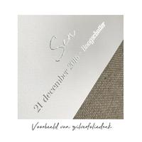 Custom Silhouette Contour poster Goud - Zilver - Koper