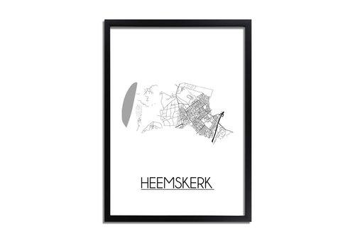 DesignClaud Heemskerk Plattegrond poster