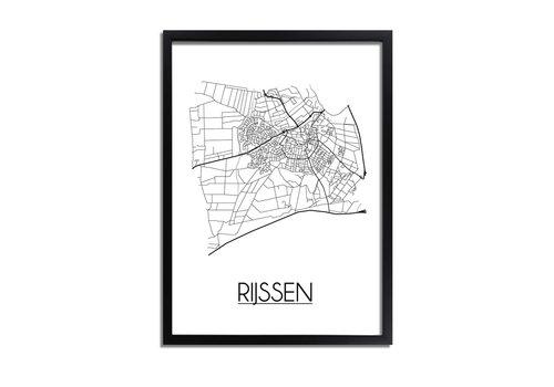 DesignClaud Rijssen Plattegrond poster