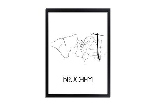 DesignClaud Bruchem Plattegrond poster