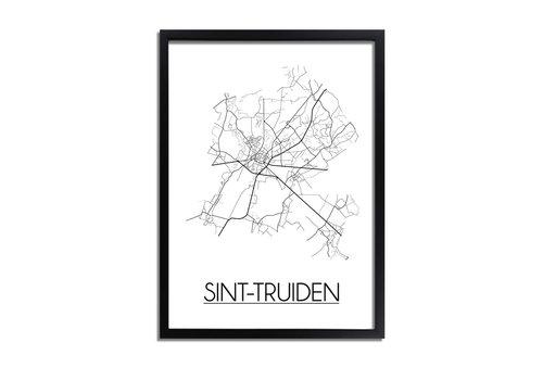 DesignClaud Sint-Truiden Plattegrond poster