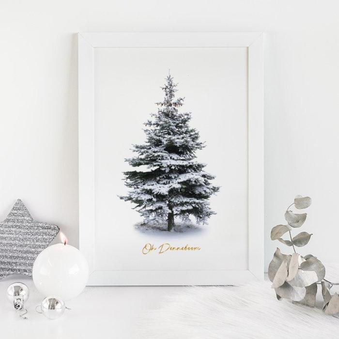 Kerst posters Foliedruk