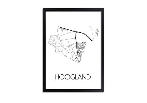DesignClaud Hoogland Plattegrond poster