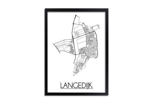 DesignClaud Langedijk Plattegrond poster