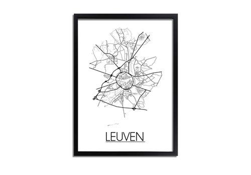 DesignClaud Leuven Plattegrond poster