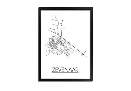 DesignClaud Zevenaar Plattegrond poster