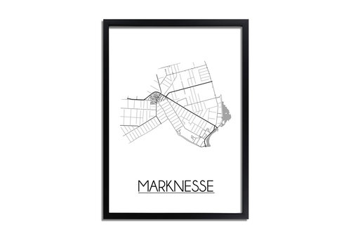 DesignClaud Marknesse Plattegrond poster