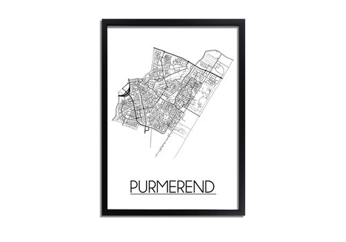 DesignClaud Purmerend Plattegrond poster