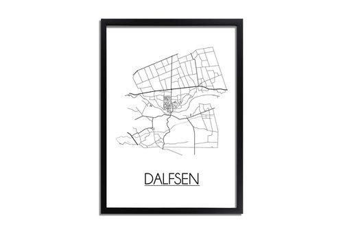DesignClaud Dalfsen Plattegrond poster