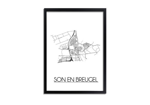 DesignClaud Son en Breugel Plattegrond poster