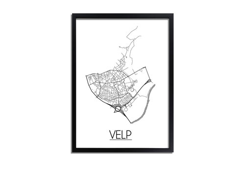 DesignClaud Velp Plattegrond poster