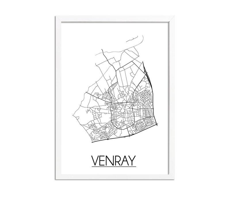 Venray Plattegrond poster