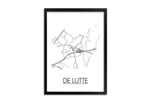 DesignClaud De Lutte Plattegrond poster
