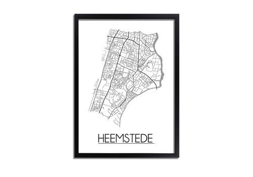 DesignClaud Heemstede Plattegrond poster