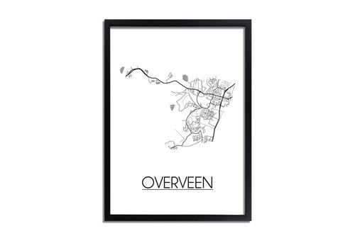 DesignClaud Overveen Plattegrond poster