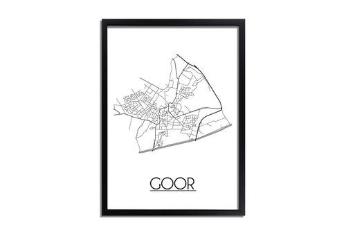 DesignClaud Goor Plattegrond poster