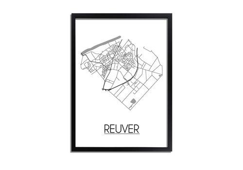 DesignClaud Reuver Plattegrond poster