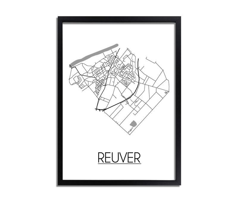 Reuver Plattegrond poster