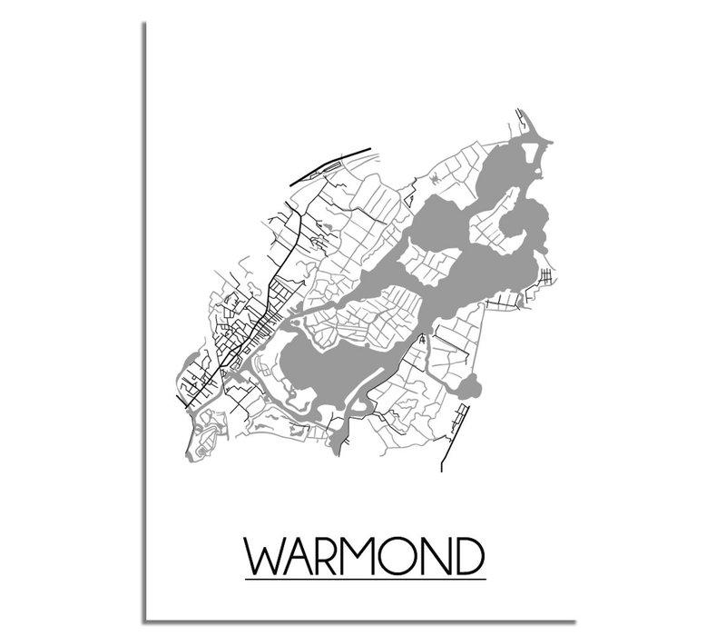 Warmond Plattegrond poster