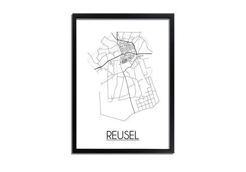 DesignClaud Reusel Plattegrond poster