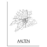 Aalten Plattegrond poster
