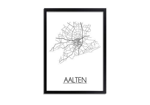DesignClaud Aalten Plattegrond poster