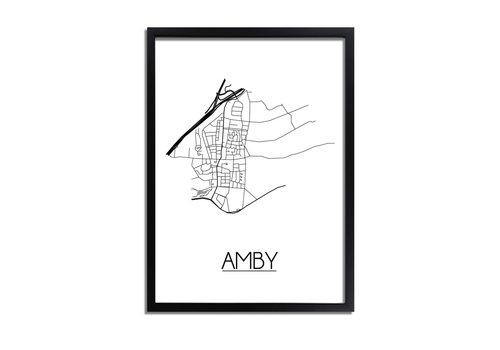 DesignClaud Amby Plattegrond poster