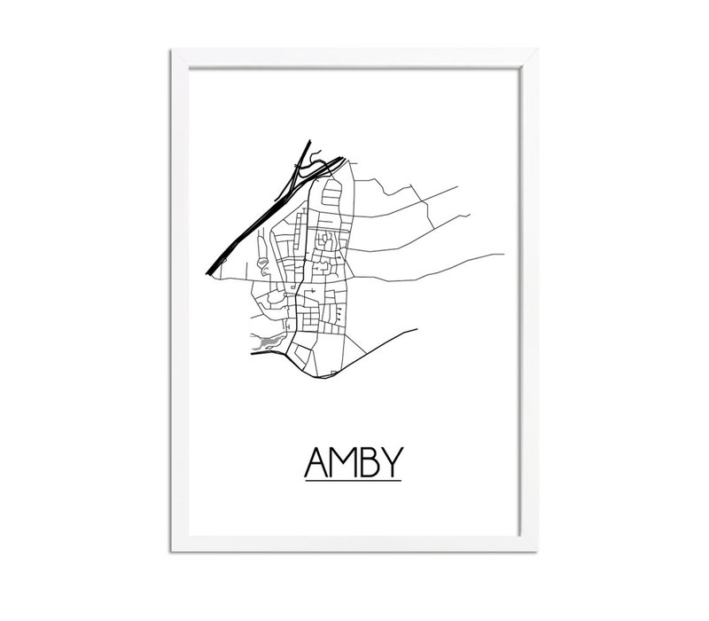 Amby Plattegrond poster