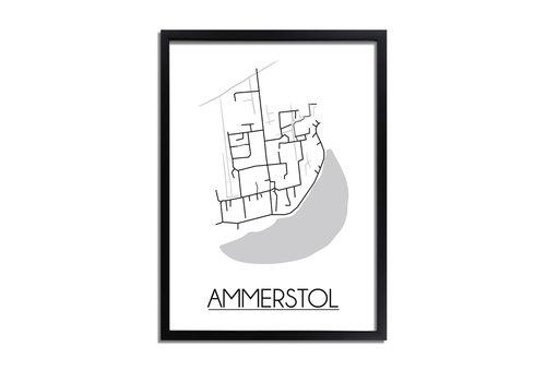 DesignClaud Ammerstol Plattegrond poster