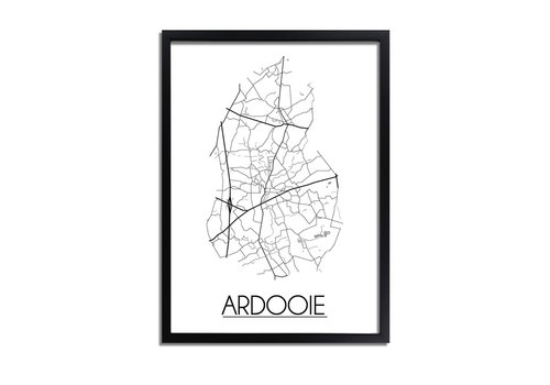 DesignClaud Ardooie Plattegrond poster