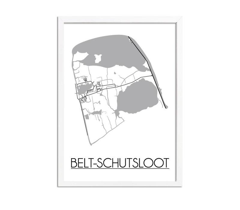 Belt-Schutsloot Plattegrond poster