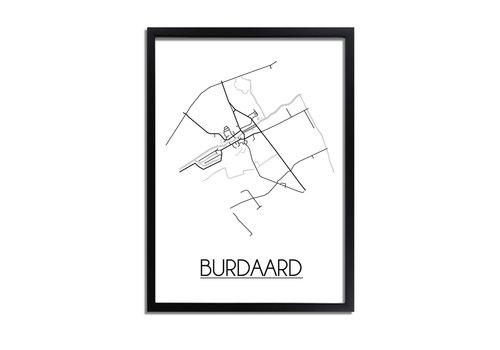 DesignClaud Burdaard Plattegrond poster