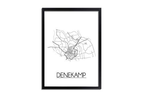 DesignClaud Denekamp Plattegrond poster