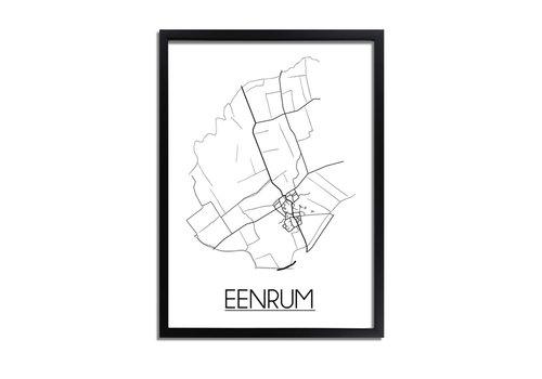 DesignClaud Eenrum Plattegrond poster