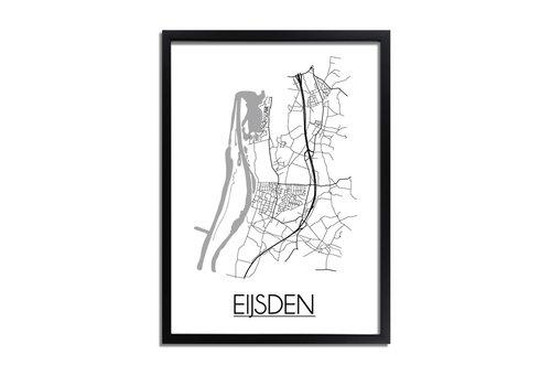 DesignClaud Eijsden Plattegrond poster