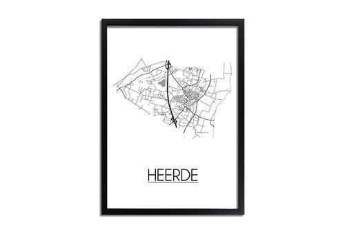 DesignClaud Heerde Plattegrond poster