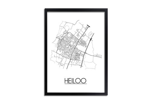 DesignClaud Heiloo Plattegrond poster