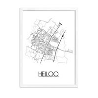 Heiloo Plattegrond poster