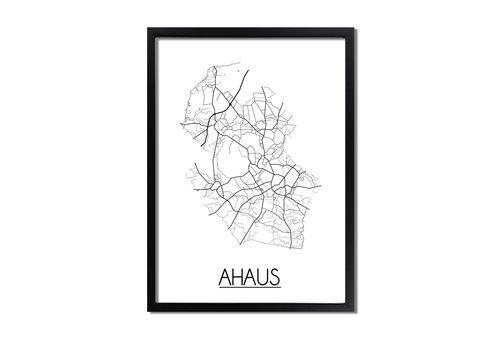 DesignClaud Ahaus Plattegrond poster